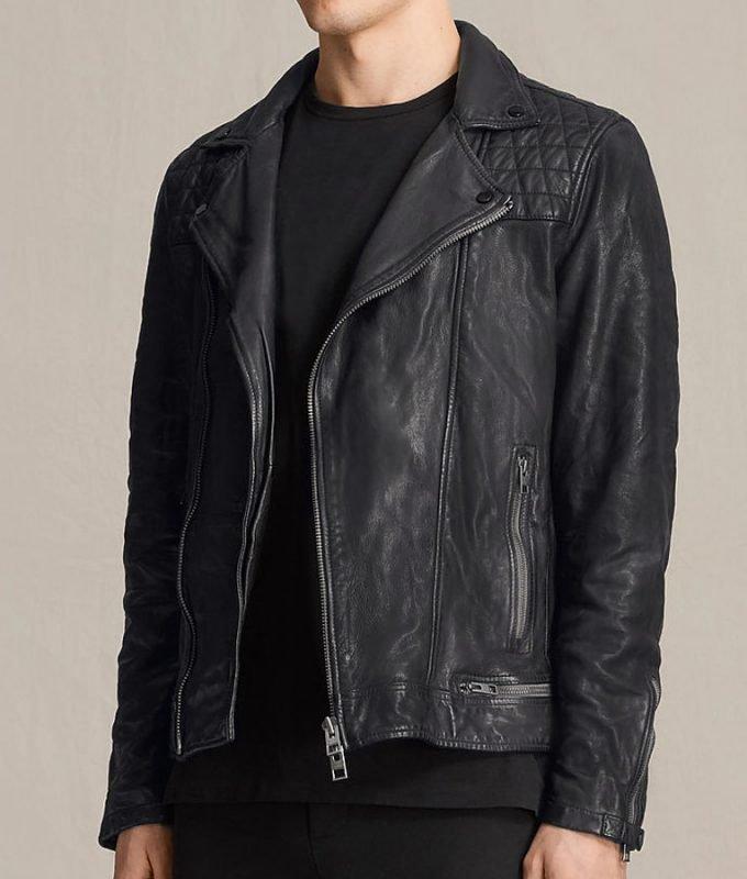 Tony Padilla 13 Reasons Why Christian Navarro Black Jacket
