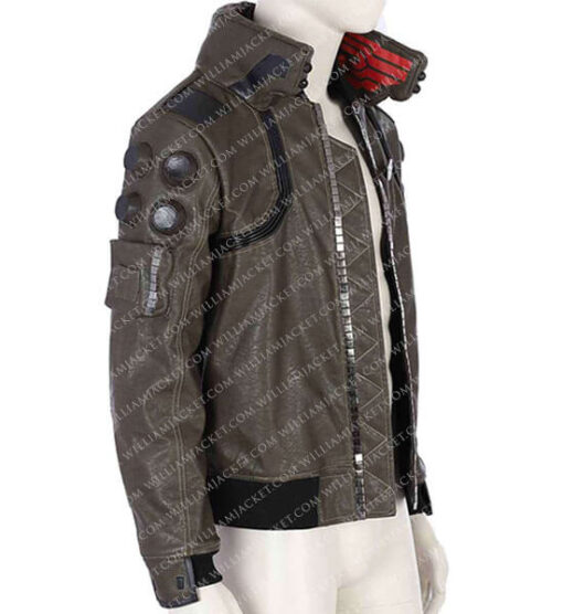 Cyberpunk-2077-Bomber-Leather-Jacket-William-Jacket-side-jacket
