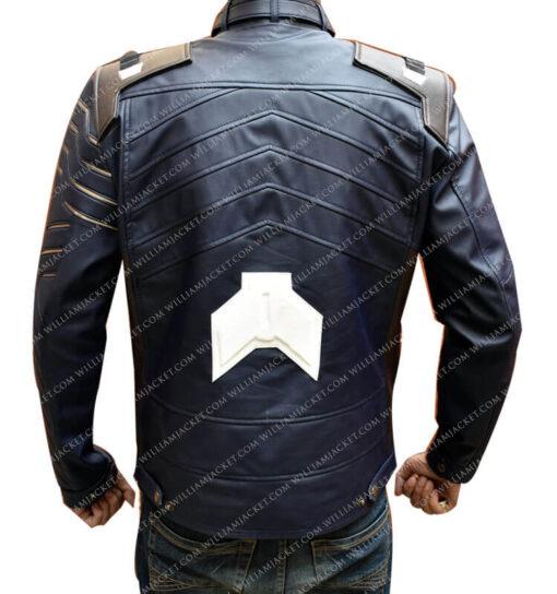 Infinity War Bucky Barnes Jacket William Jacket Back