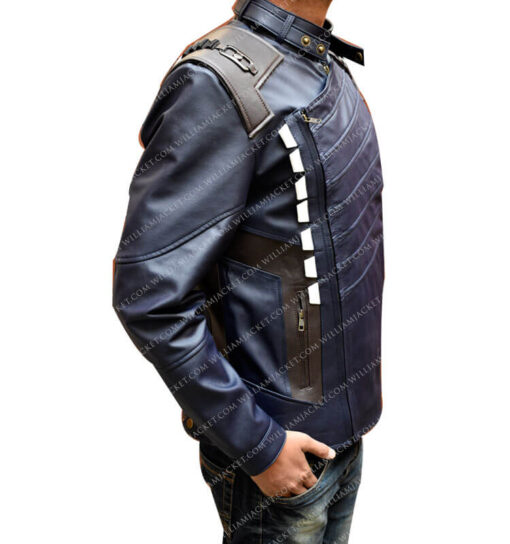 Infinity War Bucky Barnes Jacket William Jacket Side Right