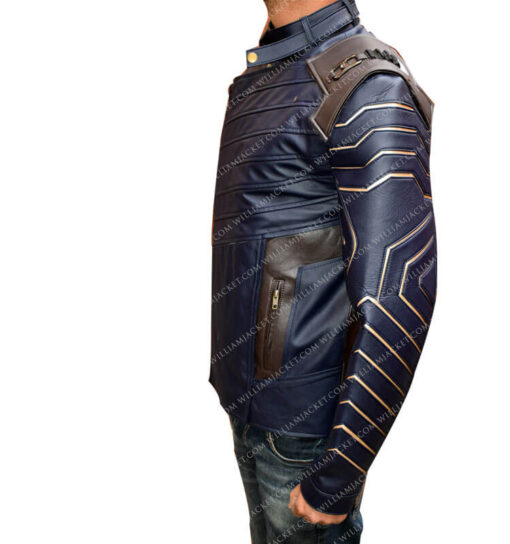 Infinity War Bucky Barnes Jacket William Jacket side left