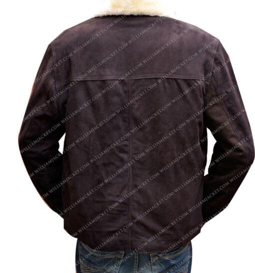 Rick Grimes The Walking Dead Jacket William Jacket Back