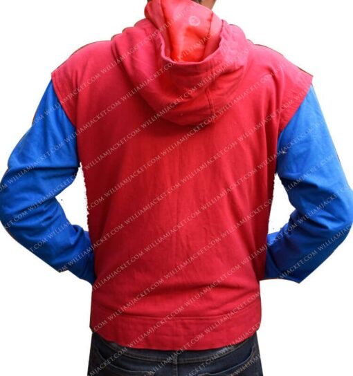 Spiderman Homecoming Costume Hoodie William Jacket Back