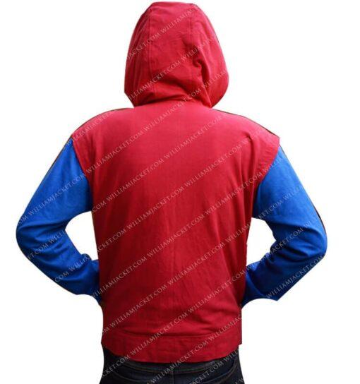 Spiderman Homecoming Costume Hoodie William Jacket Hoodie