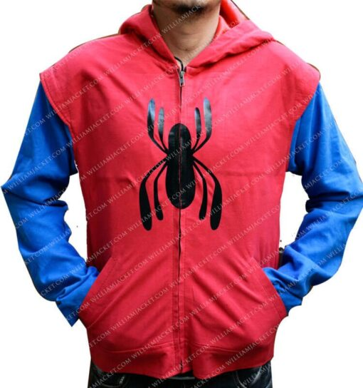 Spiderman Homecoming Costume Hoodie William Jacket Main