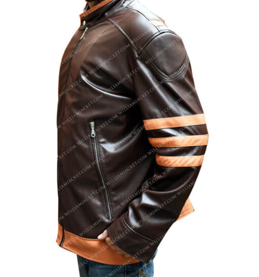 X-Men Origins Hugh Jackman Jacket William Jacket Right