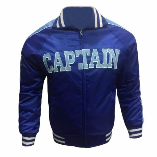Mens-Captain-Boomerang-Suicide-Squad-Varsity-Letterman-Blue- WilliamJacke