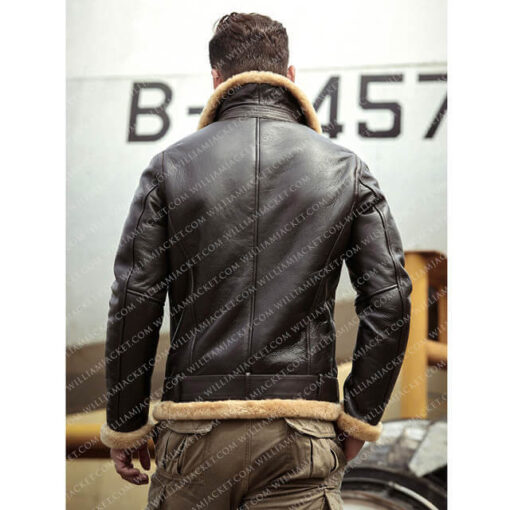 Tom-Hardy-Brown-Leather-Shearling-B-3-Farrier-Jacket-William-Jacket-Back (1)