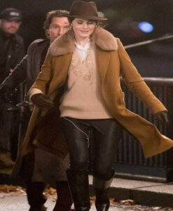 The Gentlemen Michelle Dockery Brown Coat