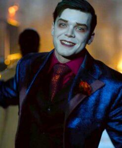 Gotham S05 Jeremiah Valeska Blue Tuxedo