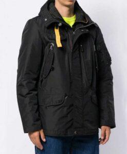 Evan Roderick Black Jacket With Hood