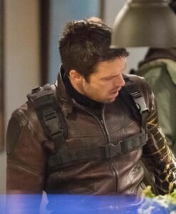 The Falcon And The Winter Soldier Bucky Barnes Brown Jacket