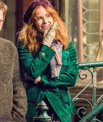 The Goldfinch Adult Pippa Green Coat