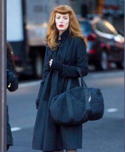 The Rhythm Section Stephanie Patrick Black Coat