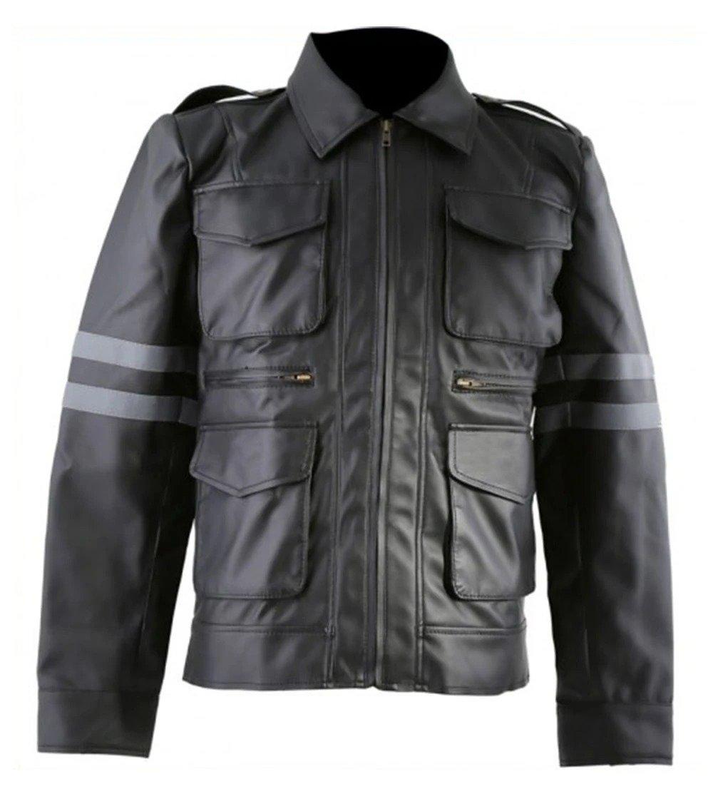 Gaming Jacket Resident Evil 6 Leon Kennedy William Jacket