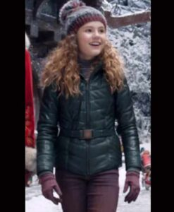 Kate The Christmas Chronicles 2 Green Jacket
