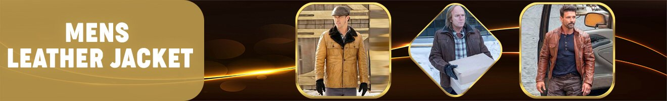 Men's Leather Jacket Collection