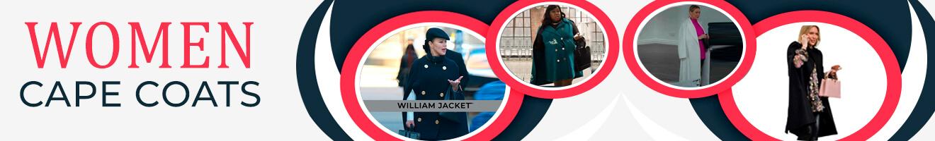 Women Cape Coat